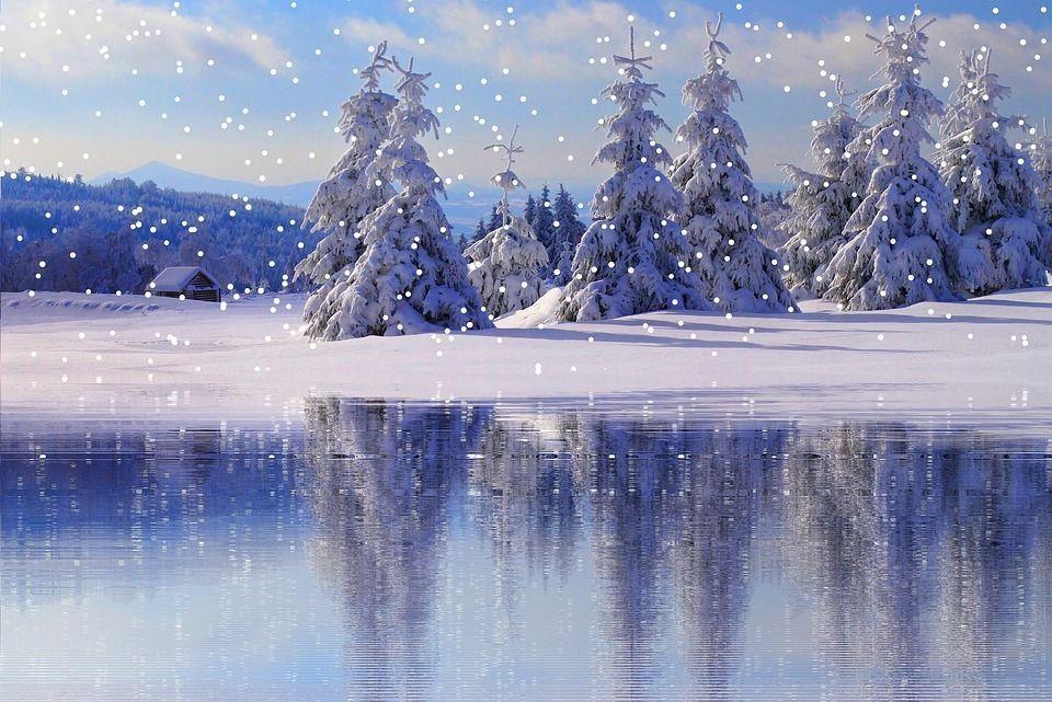 Les reflets - Winterliche bilder kostenlos ...